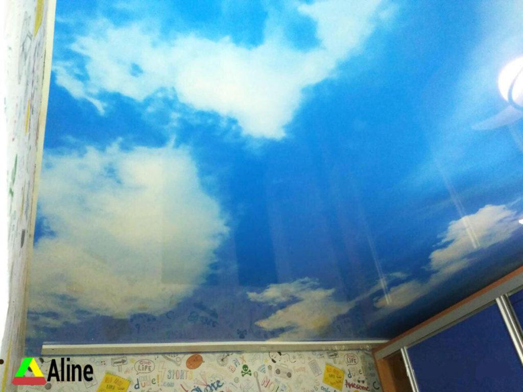 фотопечать натяжные потолки в днепре