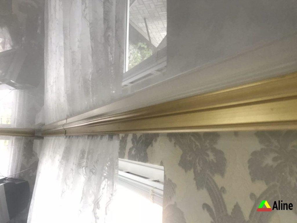 Карниз для штор натяжные потолки